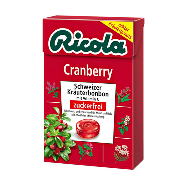 Ricola Cranberry 600