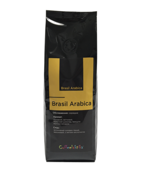 Кава у зернах Coffeelaktika Brasil Arabica Yellow Bourbon 200г
