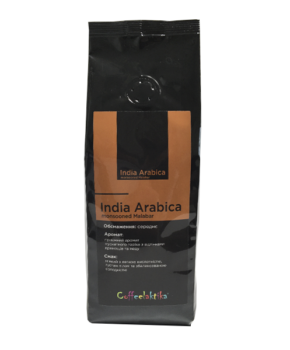 Кава у зернах Coffeelaktika India Arabica Monsooned Malabar 200г