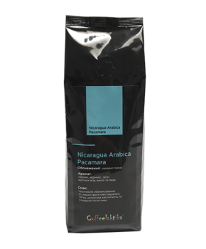 Кава у зернах Coffeelaktika Nicaragua Arabica Pacamara 200г